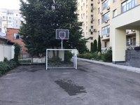 Ворота с баскетбольным щитом 3х2 для гандбола и мини-футбола