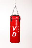 Боксёрская груша. Боксёрский мешок, ПВХ - 100 см, Ø 32 см, вес 25 кг + ПОДАРОК