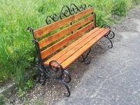 Лавка Кованная садово-парковая