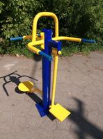 Уличный тренажер Твистер-Маятник RM-03 для отводящих и приводящих мышц бедра