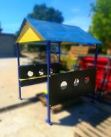 Игровой домик с лавками и столиком (Беседка)