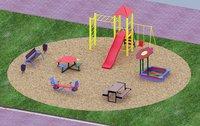 Уличная детская площадка